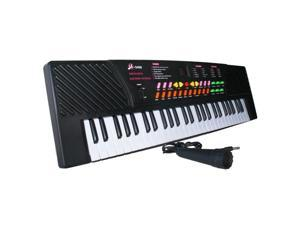 54 Keys Electronic Music Keyboard Piano Organ Records Playback w/ Mic & Adaptor - MQ-5468