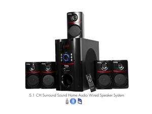 FS5010BT Bluetooth PC Laptop Computer Desktop Surround Sound 5.1 Home Theater Speaker System