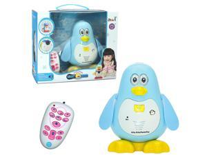 IR Infrared RC Remote Control Cute Smart Penguin Sing Dance Walking Talking Math Questions Robot Pet Toy