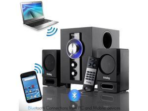 Frisby FS-6100BT Bluetooth Wireless 2.1 Ch Subwoofer Speaker System with Wireless Remote Controller