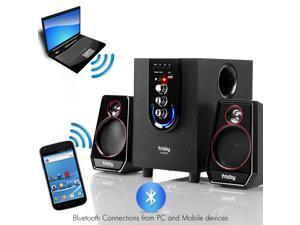 Frisby FS-6200BT Bluetooth Wireless 2.1 Ch Subwoofer Speaker System with Wireless Remote Controller