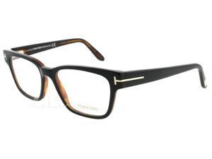 Tom Ford TF 5288 005 Black/Havana TF5288 Unisex Eyeglasses 51mm