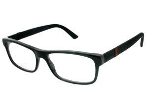 Gucci GG 1066 4UP Shiny Black Unisex Eyeglasses