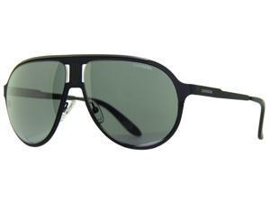 Carrera CA Champion 0003 Black Mirror Lens Matte Black Unisex Sunglasses