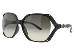 Gucci 3508/S Sunglasses (In Color- Shiny Black/brown gradient)