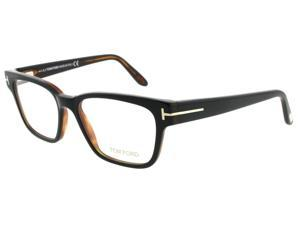 Tom Ford TF 5288 005 Black/Havana Unisex Eyeglasses 49mm