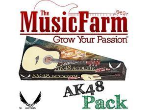 Dean Tradition Ak48 Acoustic Guitar - Natural + Accessories