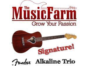 Fender Alkaline Trio Malibu Mahogany Acoustic Guitar - Natural
