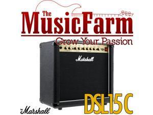 Marshall DSL DSL15C 15 Watt All Tube Electric Guitar Combo Amplifier Amp