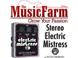 Electro Harmonix Stereo Electric Mistress Chorus and Flange Pedal