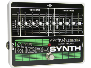 Electro Harmonix Micro Synth Bass Effects Pedal