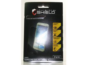 Zagg InvisibleShield Screen Protector HD HIGH DEFINITION for Samsung Galaxy Note 2 II HDSAMGALNOTTWOS UPC 843404089901