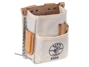 KLEIN 5125 Electrician Tool Pouch w/5-Pocket