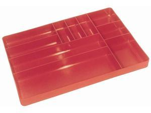 """ERNST Mfg 5010 Red """"The Tray"""" Classic Tool Organizer - Set of Two (2) Trays"""
