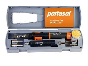 Portasol® SP1-K Super Pro 125 Cordless Soldering Kit w/7 Tips 010589330