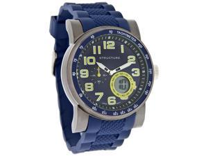 Structure by Surface Mens Analog Digital Blue Rubber Quartz Watch 32738
