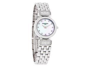 Raymond Weil Chorus Diamond Ladies MOP Dial Swiss Quartz Watch 5890-SLS-97081