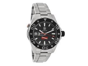 Tag Heuer Aquaracer Mens Black Dial Swiss Automatic Watch WAJ211A.BA0870