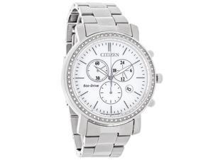 Citizen Eco-Drive Ladies Drive AML Stainless Steel Bracelet Watch FB1410-58A