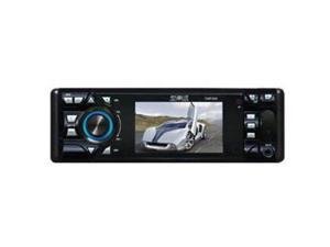 Absolute DMR360 3.5-Inch In-Dash Receiver with DVD Player Flip Down Detachable Panel, TFT Screen