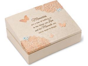 Light Your Way Memorial - Memories Memorial Keepsake Box 8x6 Inch
