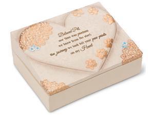 Light Your Way Memorial - Beloved Pet Memorial Keepsake Box 8x6 Inch