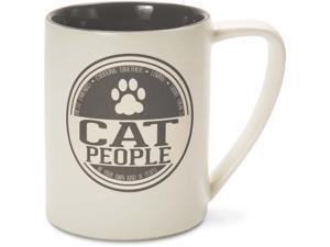 We People - Cat People Large Ceramic Coffee Mug