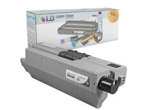 LD Compatible Replacements for Okidata Type C17 Set of 4 High Yield Black Laser Toner Cartridges: 4 44469802 Black for the ...