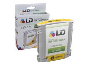 LD © Remanufactured Replacement for Hewlett Packard C4838AN (HP 11) Yellow Ink Cartridge for HP Business Inkjet, Color Inkjet ...