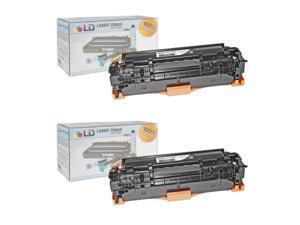 LD © Remanufactured Replacement Laser Toner Cartridges for Hewlett Packard CC530A (HP 304A) Black for Hewlett Packard (HP) ...