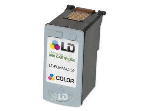 LD © Canon CL52 High Capacity Photo Color Remanufacured Inkjet Cartridge