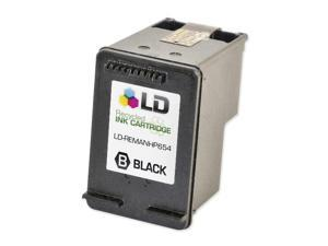 LD © Remanufactured Replacement Ink Cartridge for HP CC654AN HP 901XL / 901 HY Black for the OfficeJet J4540, J4580, J4660, ...