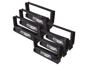 LD © Compatible Replacements for Epson ERC-23P Set of 6 Purple POS Ribbon Cartridges for use in Epson ERC, M, RP, and TM ...