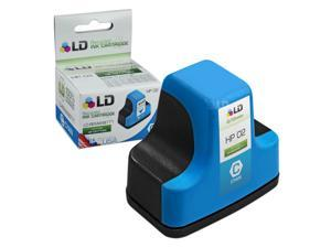 LD © Remanufactured Replacement Ink Cartridge for Hewlett Packard C8771WN HP 02 Cyan