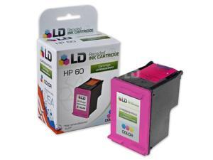 LD © Remanufactured Replacement Ink Cartridge for Hewlett Packard CC643WN (HP 60) Tri-Color