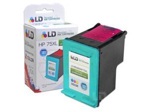 LD Remanufactured Replacement Ink Cartridge for Hewlett Packard CB338WN HP 75XL / 75  HY Tri-Color for PhotoSmart C4294, ...