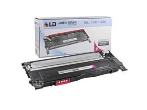 LD © Compatible Replacement for Dell 330-3014 Magenta Laser Toner Cartridge for use in Dell Color Laser 1230c, 1235c, and ...