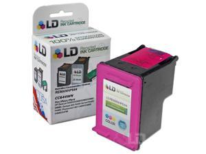 LD © Remanufactured Replacement Ink Cartridge for Hewlett Packard CC644WN 60XL / 60 High-Yield Tri-Color