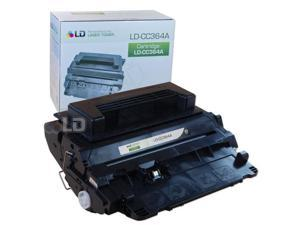 LD © Remanufactured Replacement Laser Toner Cartridge for Hewlett Packard CC364A (HP 64A) Black for use in the LaserJet P4014dn, ...