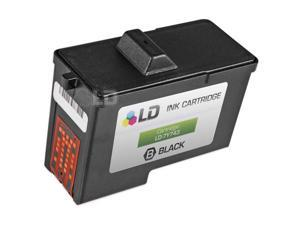 LD © Remanufactured 7Y743 / X0502 (Series 2) Black Ink Cartridge for Dell A940 and A960