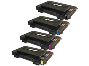 LD © 4 Compatible Laser Toners 1(Bk,C,M,Y) for use in Samsung CLP510 printers