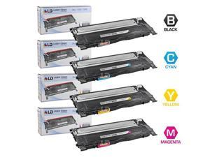 LD © Compatible Replacement for Dell 1230c/1235c Set of 4 Laser Toner Cartridges Inlcudes: 1 330-3012 Black, 1 330-3015 Cyan, ...