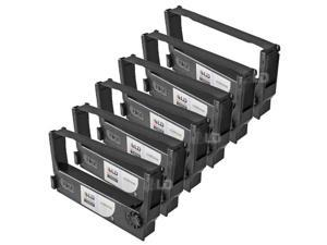 LD © Epson Compatible Replacement 6 Pack Black POS Ribbon Cartridges - ERC-23B