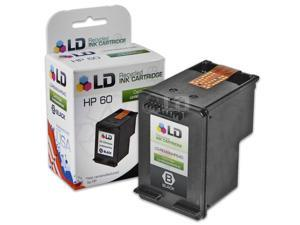 LD © Remanufactured Replacement Ink Cartridge for Hewlett Packard CC640WN (HP 60) Black