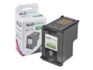 LD © Remanufactured Replacement Ink Cartridge for Hewlett Packard CB335WN (HP 74) Black