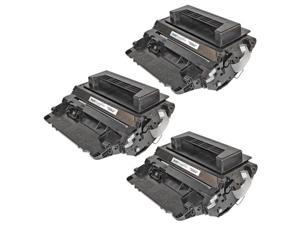 LD © Remanufactured Replacement Laser Toner Cartridges for HP CC364A (HP 64A) Black (3 Pack) for use in the LaserJet P4014dn, ...