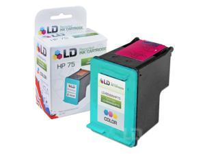 LD © Remanufactured Replacement Ink Cartridge for Hewlett Packard CB337WN (HP 75) Tri-Color