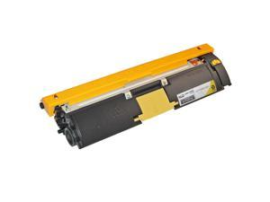 LD© Remanufactured Replacement for Konica-Minolta 1710587-005 Yelllow Toner Cartridge for use in MagiColor 2400, 2400w, 2430dl, ...