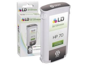 LD © Remanufactured Replacement Ink Cartridge for Hewlett Packard C9450A (HP 70) Gray