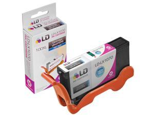 LD © Compatible Replacement for Lexmark 14N1070 / 100XL / 100 High Yield Magenta Ink Cartridge